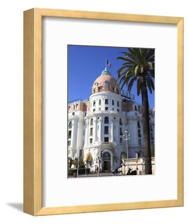 Hotel Negresco, Promenade Des Anglais, Nice, Alpes Maritimes, Cote D'Azur, French Riviera, Provence