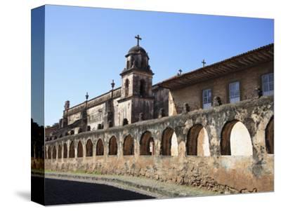 Iglesia El Sagrario, Church of the Shrine, Patzcuaro, Michoacan State, Mexico, North America
