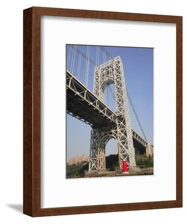 Little Red Lighthouse, George Washington Bridge, New York City