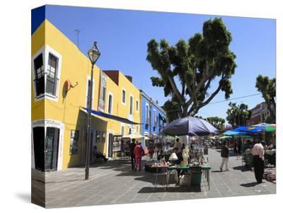 Los Sapos Antiques and Flea Market, Puebla, Historic Center, UNESCO World Heritage Site, Puebla Sta