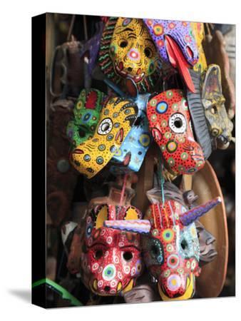 Masks, Handicraft Market, Antigua, Guatemala, Central America