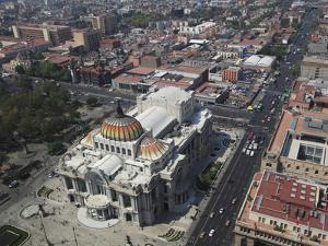 Palacio De Bellas Artes, Historic Center, Mexico City, Mexico, North America by Wendy Connett
