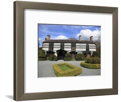 Plas Newydd, Museum, Llangollen, Dee Valley, Denbighshire, North Wales, Wales, UK, Europe