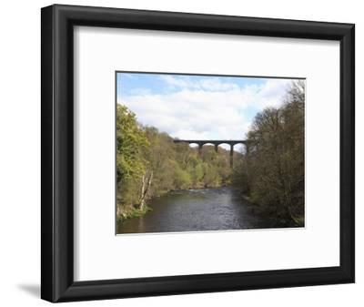 Pontcysyllte Aqueduct, UNESCO World Heritage Site, Llangollen, Denbighshire, North Wales, UK