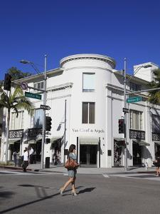 Rodeo Drive, Beverly Hills, Los Angeles, California, Usa by Wendy Connett