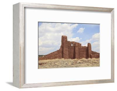 Ruins of Church, Abo, Salinas Pueblo Missions National Monument, Salinas Valley, New Mexico, Usa