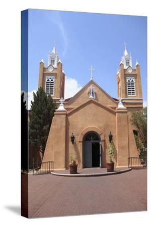 San Felipe De Neri Church, Old Town, Albuquerque, New Mexico, Usa