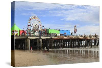 Santa Monica Pier, Pacific Park, Santa Monica, Los Angeles, California, Usa