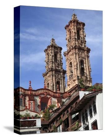 Santa Prisca Church, Taxco, Colonial Town Well Known For Its Silver Markets, Guerrero State, Mexico