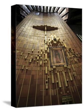Shroud of Our Lady of Guadalupe, Modern Or New Basilica, Our Lady of Guadalupe, Mexico City, Mexico