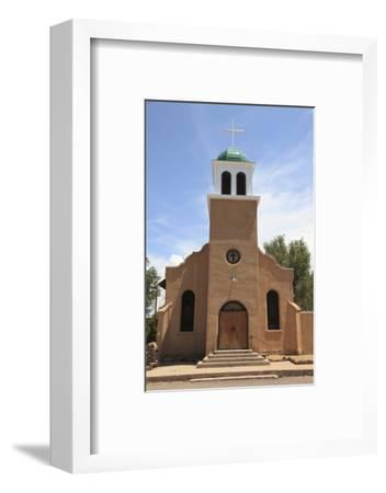 St. Josephs Church and Shrine, Cerrillos, Old Mining Town, Turquoise Trail, New Mexico, Usa