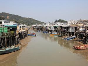 Stilt Houses, Tai O Fishing Village, Lantau Island, Hong Kong, China, Asia by Wendy Connett