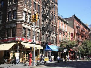 Street Scene, Greenwich Village, West Village, Manhattan, New York City by Wendy Connett