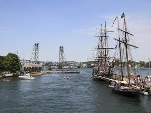 Tall Ships, Portsmouth, New Hampshire, New England, United States of America, North America by Wendy Connett
