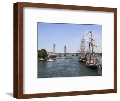 Tall Ships, Portsmouth, New Hampshire, New England, United States of America, North America