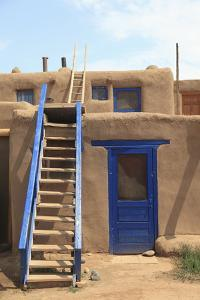 Taos Pueblo, UNESCO World Heritage Site, Taos, New Mexico, United States of America, North America by Wendy Connett