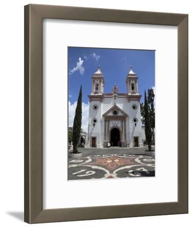 Templo De Santa Veracruz Church, Taxco, Guerrero State, Mexico, North America