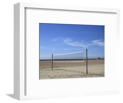 Volleyball Net, Santa Monica, Los Angeles, California, United States of America, North America