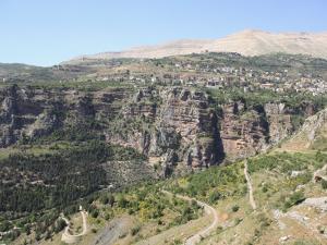 Wadi Qadisha, UNESCO World Heritage Site, Qadisha Valley, Lebanon, Middle East by Wendy Connett