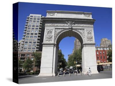 Washington Square Park, Washington Square Arch, Greenwich Village, Manhattan
