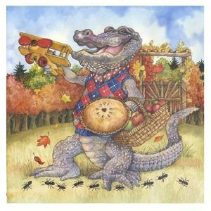 Autumn Alligator by Wendy Edelson
