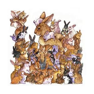 Bunnies by Wendy Edelson