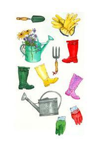 Garden Icons 2 by Wendy Edelson