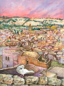 Jerusalem Dove by Wendy Edelson