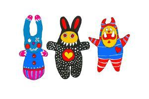 Monster Dolls by Wendy Edelson