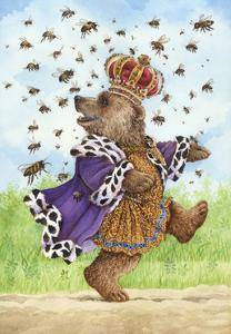 Quack King Bees 2 by Wendy Edelson