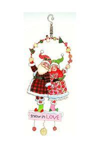 Snow in Love Bouncie by Wendy Edelson