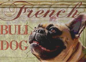 French Bulldog by Wendy Presseisen