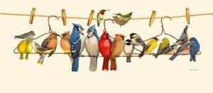 Bird Menagerie II by Wendy Russell