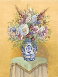 Bouquet in Asian Vase I by Wendy Russell
