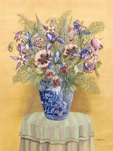 Bouquet in Asian Vase II by Wendy Russell