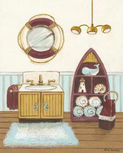Nautical Bath II by Wendy Russell