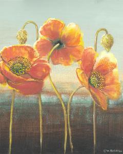 Poppy Tops II by Wendy Russell