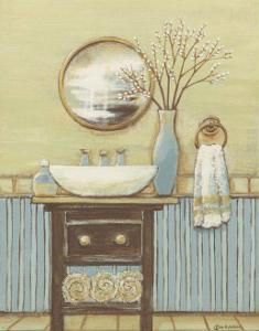Seabreeze Bath I by Wendy Russell