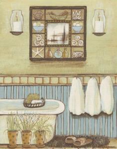 Seabreeze Bath II by Wendy Russell