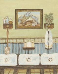 Seabreeze Bath IV by Wendy Russell