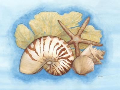 Seashells and Seafan I by Wendy Russell