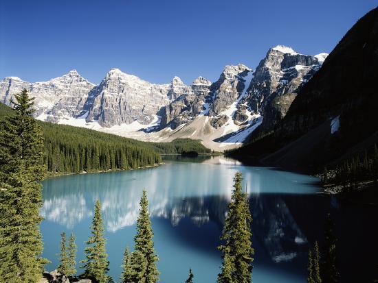 Wenkchemna Peaks and Moraine Lake, Banff NP, Alberta