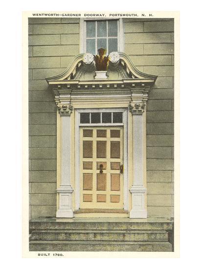 Wentworth-Gardner Doorway, Portsmouth, New Hampshire--Art Print