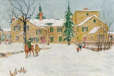 Wentworth Mansion, New Hampshire, USA, C18th Century-James Preston-Giclee Print