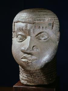 Edo terracotta head, Benin City, Nigeria, 17th century by Werner Forman
