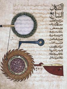 Miniature from a Mamluk copy of the Automata of al Jaziri, Egypt by Werner Forman