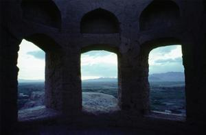 Ruins of a Zoroastrian temple near Isfahan by Werner Forman