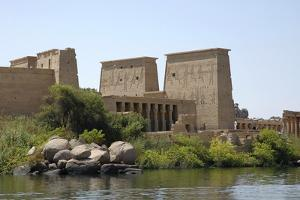 Temple of Isis, Philae, Egypt by Werner Forman
