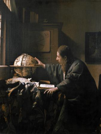 'The Astronomer', painting by Jan Vermeer, 1668