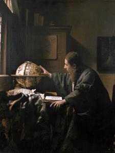 'The Astronomer', painting by Jan Vermeer, 1668 by Werner Forman